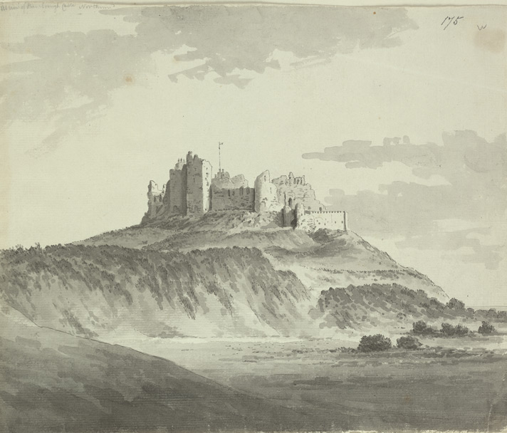 Bamburgh Castle f.175